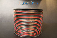 12 GAUGE 500FT RED BLACK ZIP WIRE AWG CABLE POWER GROUND STRANDED COPPER CLAD EE