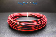 18 GAUGE 100FT RED BLACK ZIP WIRE AWG CABLE POWER GROUND STRANDED COPPER CLAD EE
