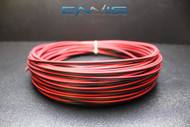20 GAUGE 100FT RED BLACK ZIP WIRE AWG CABLE POWER GROUND STRANDED COPPER CLAD EE