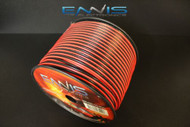 12 GAUGE 500FT RED BLACK SPEAKER WIRE HOME CAR AWG CABLE STRANDED COPPER CLAD EE