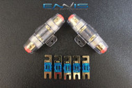 4 6 8 10 GAUGE MINI ANL FUSE HOLDER (2) W (5) 40 AMP FUSE AFC MIDI FUSES HIGH