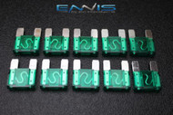 10 PACK MAXI 30 AMP FUSE BLADE STYLE CAR BOAT AUTOMOTIVE AUTO HOLDER FUSES EE