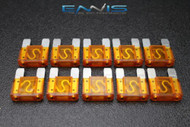 10 PACK MAXI 40 AMP FUSE BLADE STYLE CAR BOAT AUTOMOTIVE AUTO HOLDER FUSES EE