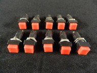 10 PACK PUSH BUTTON SWITCH SPST ON OFF MINI BUTTON 3 AMP 125V 2 PIN NB-802
