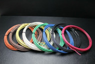 10 GAUGE THHN WIRE STRANDED PICK 4 COLORS 25 FT EACH THWN 600V AWN CABLE AWG