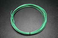 12 GAUGE THHN WIRE STRANDED GREEN GROUND 15 FT THWN 600V 90C MACHINE CABLE AWG