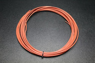 12 GAUGE THHN WIRE STRANDED ORANGE 25 FT THWN 600V 90C MACHINE CABLE AWG