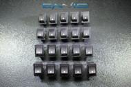 20 PCS MINI ON OFF ROCKER SWITCH 12 V 10 AMP 2 PIN TOGGLE 1/2 3/4 HOLE EC-1210