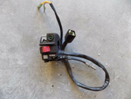 2004 KAWASAKI KFX 700 HANDLE BAR CLAMP/ ON OFF SWITCH PARTS ONLY KSV 05 06 07