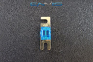 (1) 40 AMP MINI ANL FUSES GOLD PLATED INLINE AFC AFS BLADE AUTO HOLDER MANL40