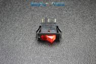 ROCKER SWITCH ON OFF MINI TOGGLE RED LED 3P SPST 125V 15 AMP EC-315