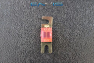 (1) 30 AMP MINI ANL FUSES GOLD PLATED INLINE AFC AFS BLADE AUTO HOLDER MANL30