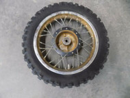1979 SUZUKI JR50 FRONT RIM AND TIRE 79 80 81 82 JR 50