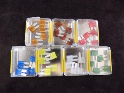 100 Pk Atr 7 5 Amp Fuse Fuses Blade Circuit Cooper Bussmann Micro 2 Leg