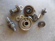 2004 SUZUKI EIGER 400 4X4 ENGINE GEAR LOT 04 #2