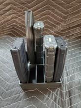 .223 5.56 magazine stand rack mag storage 10 slot safe ammo shelf 223 556 Black