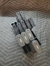 .223 5.56 magazine stand rack mag storage 20 slot safe ammo shelf 223 556 Black