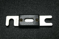 1 PACK 200 AMP ANL FUSE FUSES NICKEL PLATED INLINE WAFER HIGH QUALITY HOLDER