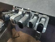 5 pistol wall mount glock 1911 sig m&p shield storage rack safe 9mm 45 auto acp