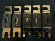 5 PACK 100 AMP ANL FUSE FUSES GOLD PLATED INLINE WAFER HIGH QUALITY HOLDER