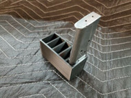 5 slot 1911 mag holder magazine storage 45 auto acp rack safe shelf black