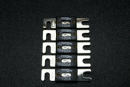 5 PACK 100 AMP ANL FUSE FUSES NICKEL PLATED INLINE WAFER HIGH QUALITY HOLDER