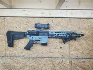 AR Wall Mount Rifle Display ANY DIRECTION RACK HOLDER EASY ACCESS Black