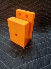 AR Wall Mount Rifle Display ANY DIRECTION RACK HOLDER EASY ACCESS Orange
