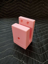 AR Wall Mount Rifle Display ANY DIRECTION RACK HOLDER EASY ACCESS pink