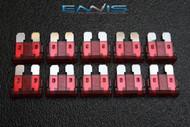 (10) PACK ATC 10 AMP FUSES ATO FUSE BLADE STYLE CAR BOAT AUTOMOTIVE AUTO ATC10