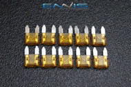 (10) PACK ATM 5 AMP FUSES MINI FUSE BLADE STYLE CAR BOAT AUTOMOTIVE AUTO ATM5