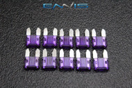 (10) PACK ATM 3 AMP FUSES MINI FUSE BLADE STYLE CAR BOAT AUTOMOTIVE AUTO ATM3