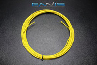 14 GAUGE WIRE ENNIS ELECTRONICS 50 FT YELLOW PRIMARY STRANDED AWG COPPER CLAD