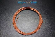 14 GAUGE WIRE ENNIS ELECTRONICS 50 FT TAN PRIMARY STRANDED AWG COPPER CLAD
