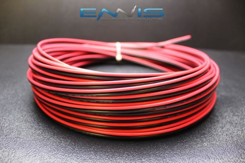 22 GAUGE 100 FT RED BLACK ZIP WIRE AWG CABLE POWER GROUND STRANDED COPPER CAR