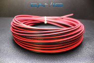 16 GAUGE 25 FT RED BLACK ZIP WIRE AWG CABLE POWER GROUND STRANDED COPPER CLAD EE