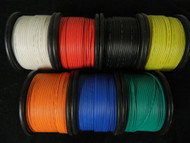 16 GAUGE WIRE PICK 5 COLORS 50 FT EACH PRIMARY AWG STRANDED COPPER POWER REMOTE