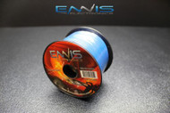 18 GAUGE WIRE ENNIS ELECTRONICS 100 FT SPOOL BLUE PRIMARY AWG COPPER CLAD