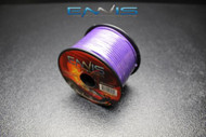 18 GAUGE WIRE ENNIS ELECTRONICS 100 FT PURPLE SPOOL PRIMARY AWG COPPER CLAD