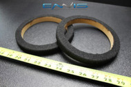 2 MDF SPEAKER RING SPACER 8 INCH 2 HOLES CARPET WOOD 3//4 THICK EE-RING-8 2HOLE