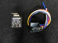2 PACK 30/40 AMP RELAY HEAVY DUTY WITH WIRE HARNESS 12 VOLT 5 PRONG SPDT BOSCH