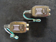 2 PACK INSTALL BAY HIGH LOW CONVERTER 40 WATTS ADJUSTABLE 2 CHANNELSPEAKER RCA