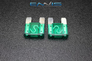 2 PACK MAXI 30 AMP FUSE BLADE STYLE CAR BOAT AUTOMOTIVE AUTO HOLDER FUSES EE