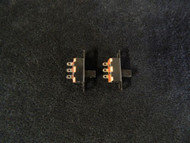 2 PACK PCS SPDT ON-ON MINI SLIDE SWITCH 125V AC 3 AMP 3 PIN TOGGLE AR-110