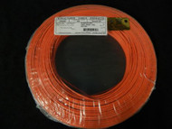 22 GAUGE 2 CONDUCTOR 100FT ORANGE ALARM WIRE STRANDED COPPER HOME SECURITY CABLE