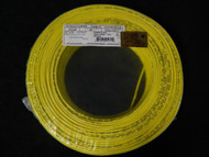 22 GAUGE 4 CONDUCTOR 50 FT YELLOW ALARM WIRE SOLID COPPER HOME SECURITY CABLE