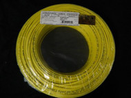 22 GAUGE 4 CONDUCTOR 50 FT YELLOW ALARM WIRE STRANDED COPPER HOME SECURITY CABLE