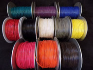 22 GAUGE GPT WIRE PICK 3 COLORS 25 FT EA PRIMARY AWG STRANDED 100% OFC COPPER