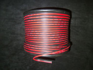 24 GAUGE RED BLACK SPEAKER WIRE PER 10 FT AWG CABLE POWER GROUND STRANDED COPPER