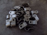 25 PACK 1/4 IN CABLE CLAMPS NYLON BLACK UV RESISTANT HOSE WIRE ELECTRICAL BCC14